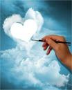 nuage de coeur