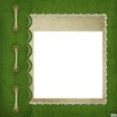 cadre vert enfant