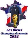 Les Bleus champions du monde 2018