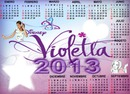 canlendario de violetta