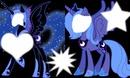 my litlle pony luna e nightmare moon