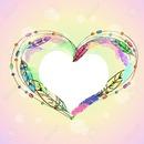 coeur plume