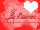Je t'aime !!!!