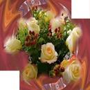 Bouquet de fleurs 2 photos
