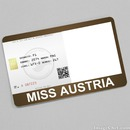 Miss Austria Card
