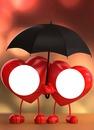 bajo la lluvia amor