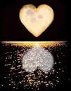 corazon sombra mar