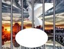 Prison - colombe - coucher de soleil