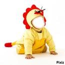 gallina bebe