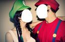 Luigie et Mario-Couple