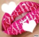 coeur lèvre
