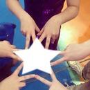 estrela de mãos