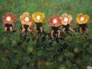 bébés fleurs