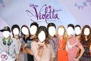 Caras de personajes de Violetta