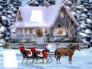 Maison avec Neige