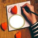 cadre coeur 1 photo