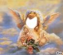 l'ange dans le ciel