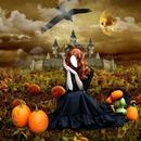 """Halloween '' Sorcière rousse """""""