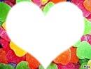 coeur de bonbons