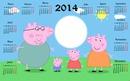calendario peppa pig