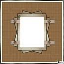 cadre brun