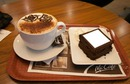 Coffee and cake for you