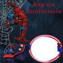 Anniversaire Spider Man