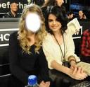 Amie avec Selena Gomez