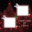 2 photos Joyeuses Fêtes Noël iena