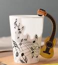 renewilly guitarra notas y taza