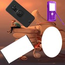 cadre main +gsm 3 photos