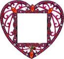 joli coeur rouge laly
