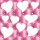 le cœur rose