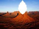 Feuille du désert