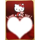 Hello Kitty love de toi
