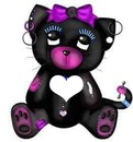Gothic teddy bear