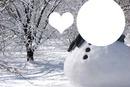 kar tanesi ve kardan adam