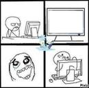 Tela De PC Dos Memes.