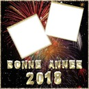 2 photos Bonne Année 2018 iena