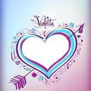 Corazon De Logo Violetta