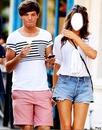 Louis Tomlinson et sa copine