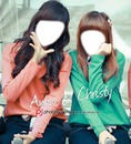 anisa dan christy chibi