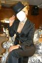 kadın siyah takım elbise