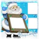 Père Noël bleu