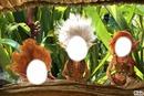 le trio arthur minimoys