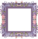 jolie cadre fleuri