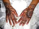 mains henné mariage -1 coeur