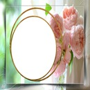 cadre fleuri 1 photo