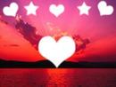 cœur étoile paysage