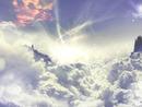 nuage eclair